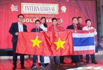 Vietnamese students win gold medals at int'l mathematics contest, Vietnam education, Vietnam higher education, Vietnam vocational training, Vietnam students, Vietnam children, Vietnam education reform, vietnamnet bridge, english news, Vietnam news, news V