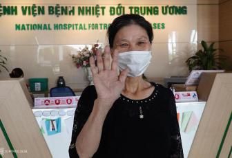 Two more Covid-19 patients recover in Hanoi