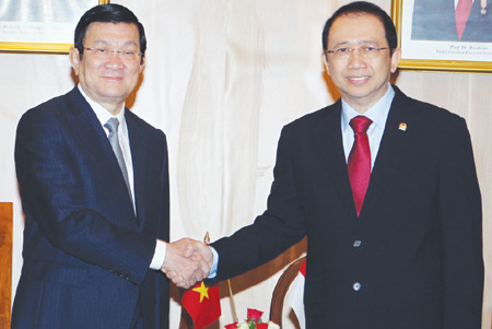 President works to promote Indonesia and ASEAN ties
