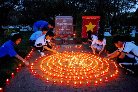 Activities held nationwide to remember war invalids, martyrs