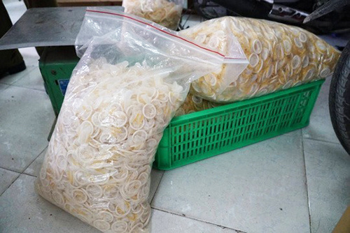 HCMC detains four men running fake condoms factory