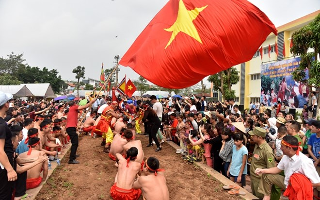 Vietnam's tug-of-war games, ritual receive UNESCO's certificate, entertainment events, entertainment news, entertainment activities, what's on, Vietnam culture, Vietnam tradition, vn news, Vietnam beauty, news Vietnam, Vietnam news, Vietnam net news, viet
