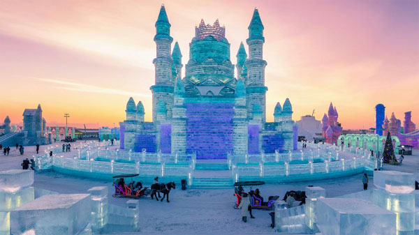 China, ice and snow festival