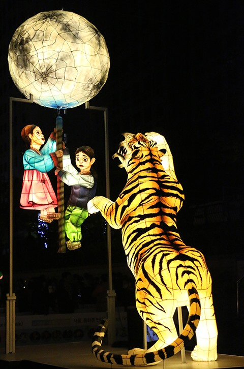 Lanterns light up dreams in Seoul