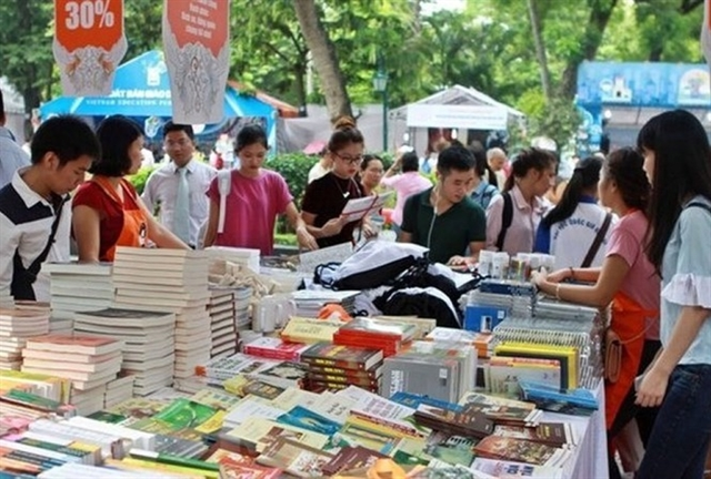 Book fair celebrates Hà Nội Liberation Day