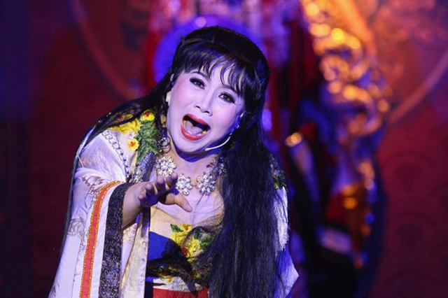 Cải lương play depicts historical events under Trịnh Lords