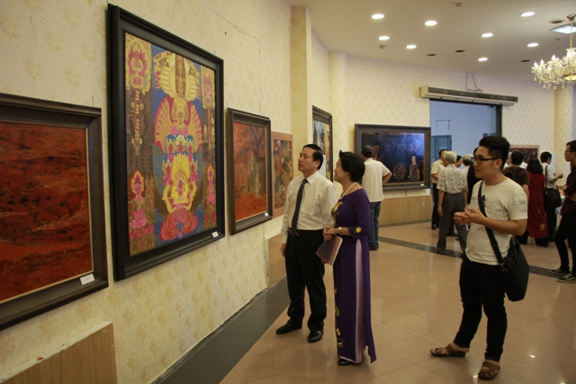 Exhibition of art inspired by Hà Nội