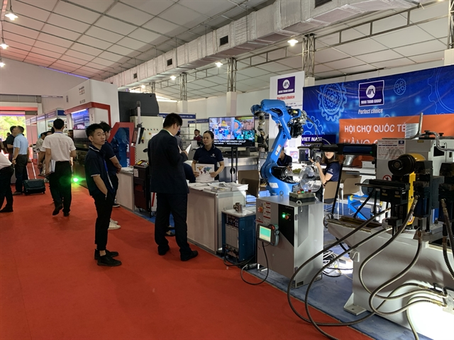 Hà Nội hosts int'l industrial fair