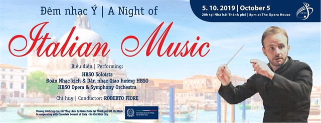 Italian Music night at Opera House