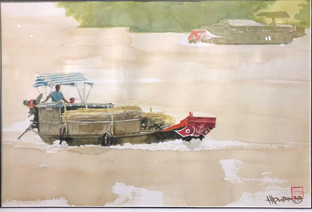 Painting exhibition on Cửu Long region opens