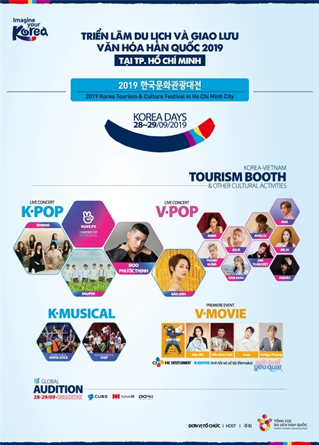 South Korea Tourism Festival in HCM City this weekend