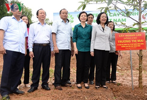 100,000 green trees planted in bac kan hinh 2